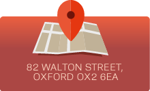 Find us at 82 Walton Street, Oxford OX2 6EA